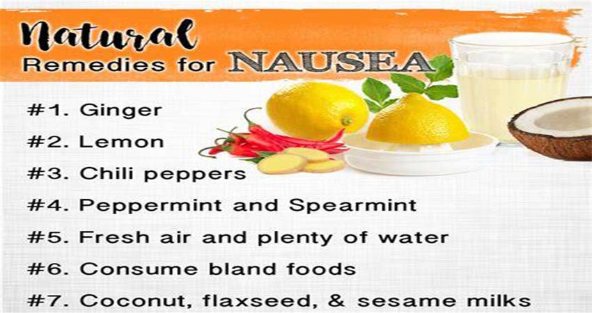 Top 4 Home Remedies to Treat Nausea